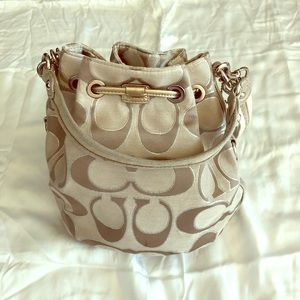Authentic Coach Poppy Bag